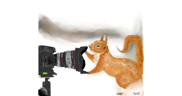 Camera drawing by punee