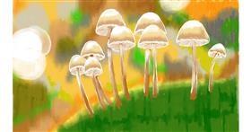 Drawing of Mushroom by SAM AKA MARGARET 🙄