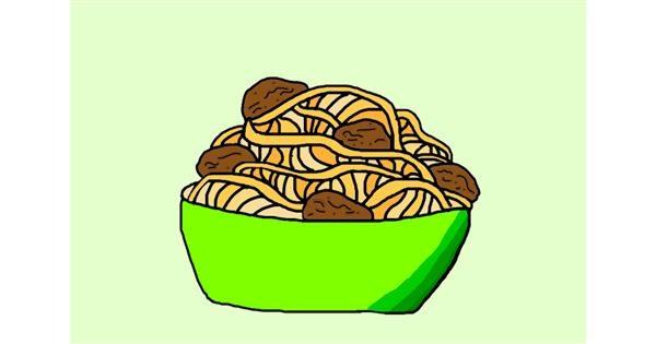 Spaghetti drawing by Hi🤩