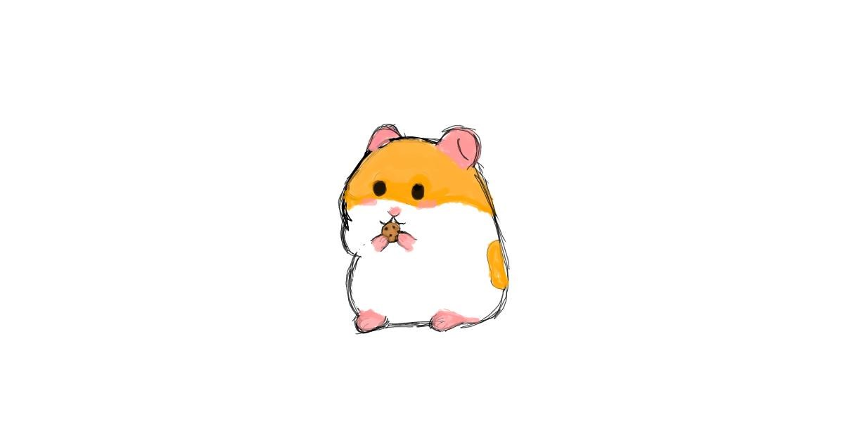 Drawing of Hamster by ~POTATO...~