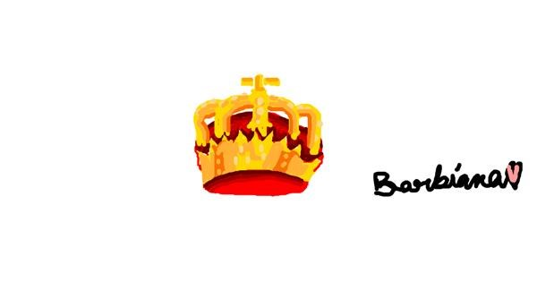 Crown drawing by barbiana