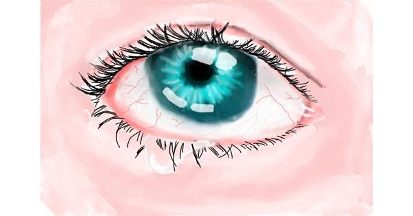 Eyes drawing by Luna lovegood