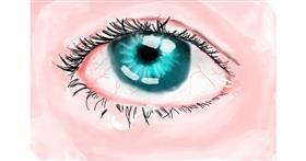 Eyes drawing by (luna lovegood)