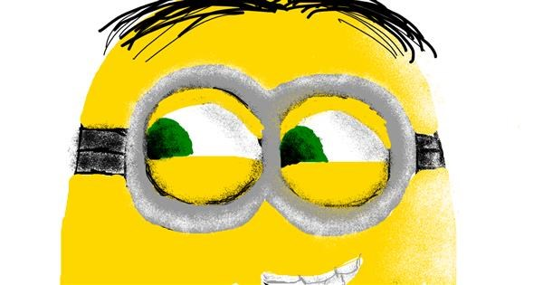 Minion drawing by Tbg