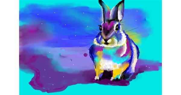 Rabbit drawing by 🌏rhythm💐