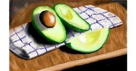 Drawing of Avocado by SAM AKA MARGARET 🙄