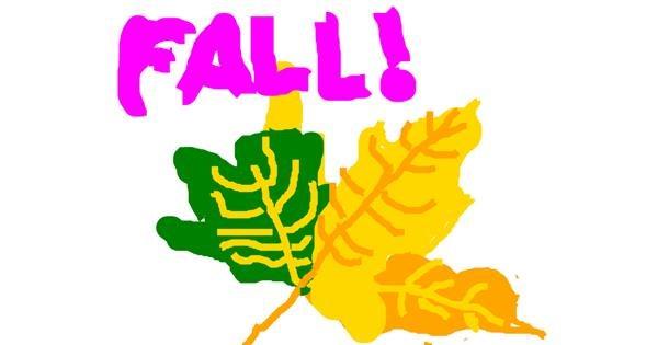 Leaf drawing by LoriaLynn