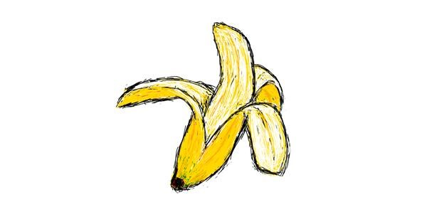 Banana drawing by lenny