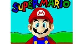 Super Mario drawing by Debidolittle