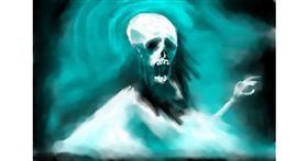 Ghost drawing by 🌏rhythm💐