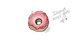 Donut drawing by Chloe