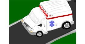Ambulance drawing by Randar