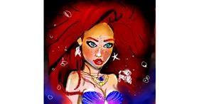 Drawing of Mermaid by Claria