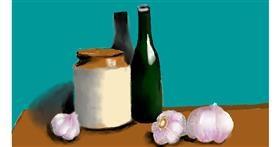 Drawing of Garlic by SAM AKA MARGARET 🙄