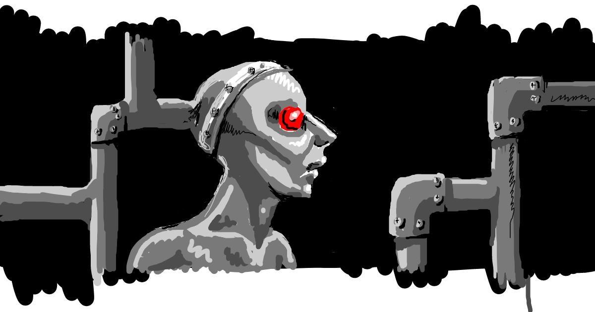 Drawing of Robot by nova