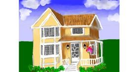 House drawing by SAM AKA MARGARET 🙄
