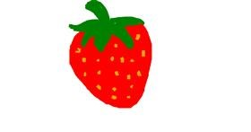 Strawberry drawing by RPM