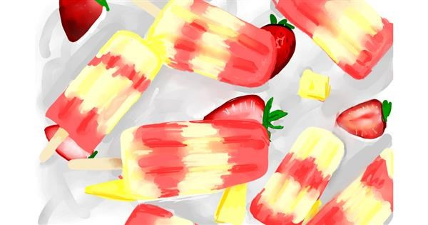 Popsicle drawing by Rose rocket