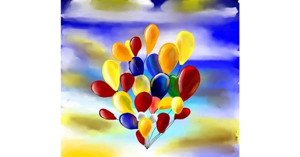 Balloon drawing by 🌏rhythm💐