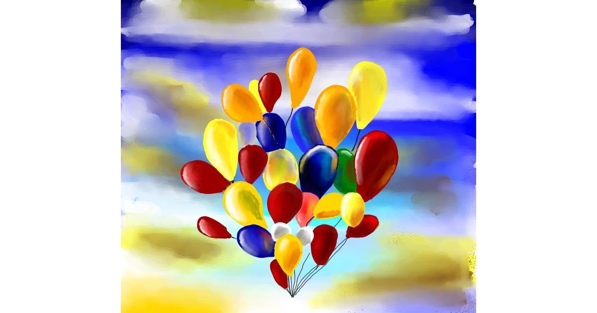 Drawing of Balloon by 🌏rhythm💐