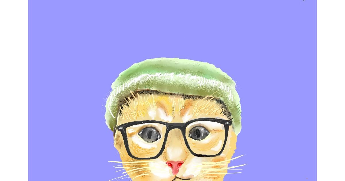 Drawing of Glasses by GJP