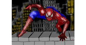 Spiderman drawing by SAM AKA MARGARET 🙄