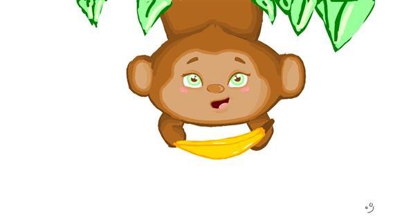 Monkey drawing by Neuralgia