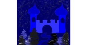 Drawing of Castle by Leni