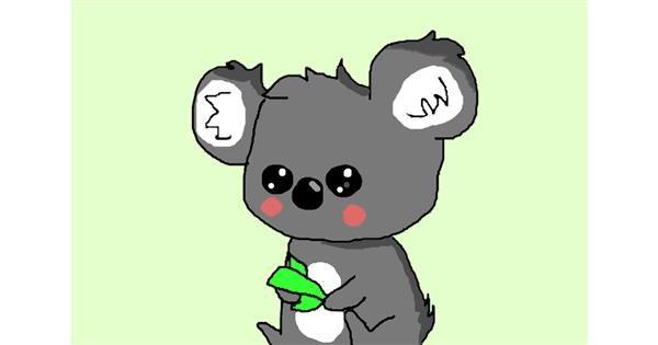 Koala drawing by Brynn