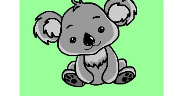 Koala drawing by InessaC