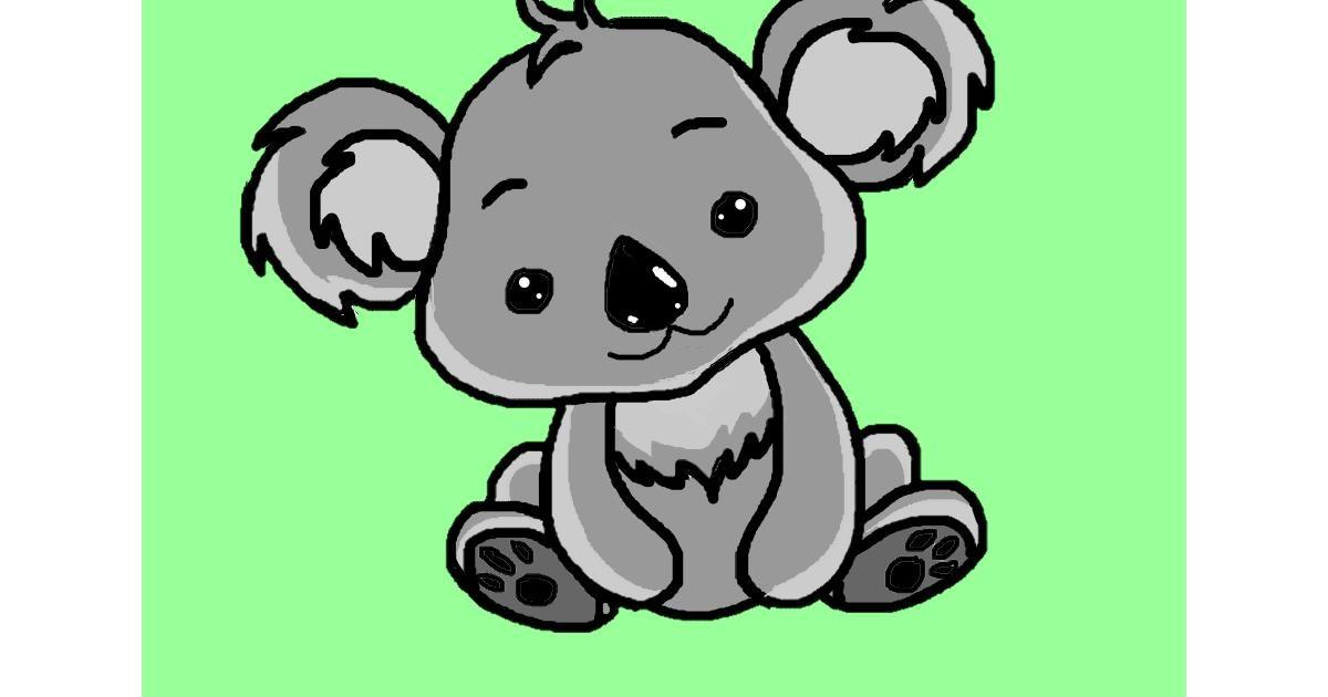 Drawing of Koala by InessaC