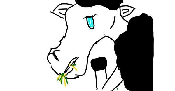 Sheep drawing by Fgy au guy go g
