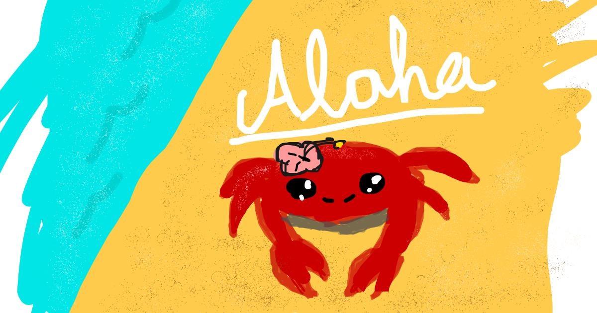 Island drawing by -AlyssaDraws-