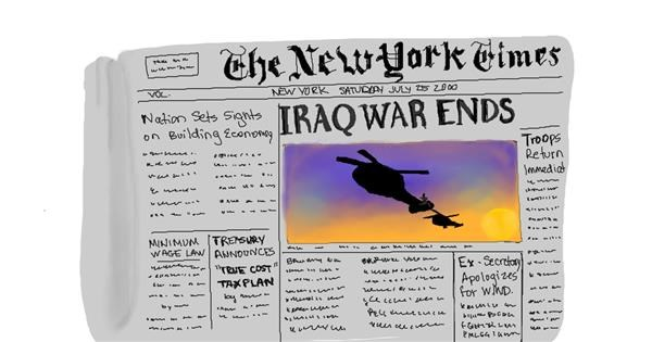 Newspaper Drawing Gallery And How To Draw Videos