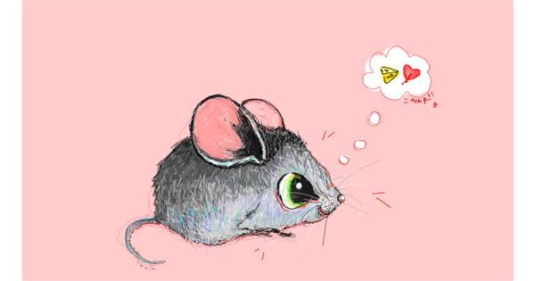 Mouse drawing by ❀𝓜𝓪𝓻𝓲❀