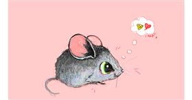 Drawing of Mouse by ❀𝓜𝓪𝓻𝓲❀