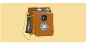 Drawing of Phone by Pinky
