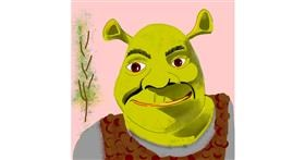 Shrek drawing by Namie