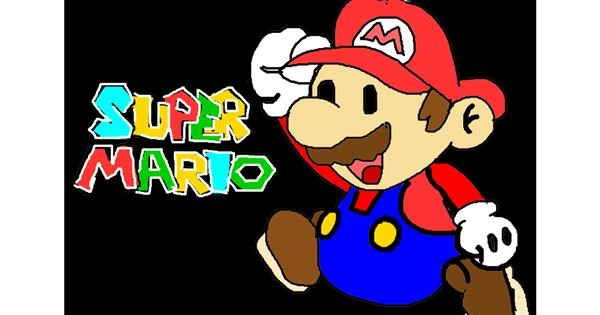 Super Mario drawing by InessaC