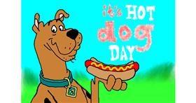 Drawing of Hotdog by InessaC