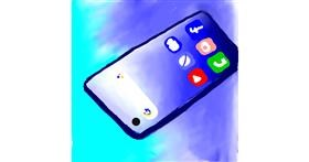 Drawing of Phone by Bumblebee