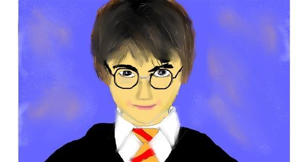 Harry Potter drawing by Vinay Tanakala