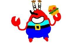 Crab drawing by bob