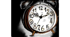 Drawing of Alarm clock by Der hilflose molch
