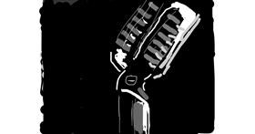 Drawing of Microphone by Firsttry