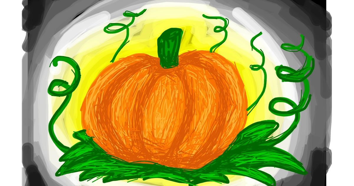 Pumpkin drawing by Nina🍎