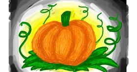 Pumpkin drawing by Nina🍎
