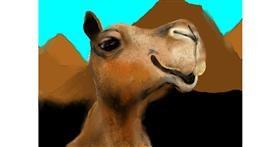 Camel drawing by SAM AKA MARGARET 🙄