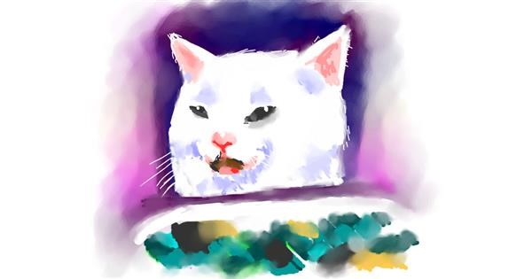 Cat drawing by luis