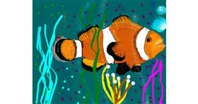 Clownfish drawing by Yashi 🐢